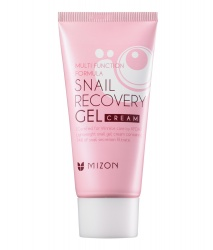 Крем-гель для лица с муцином улитки (Snail recovery gel cream) Mizon | Мизон 45мл