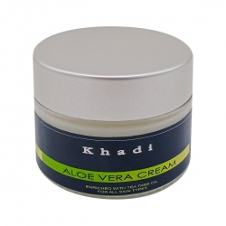 Крем для лица с алоэ вера для всех типов кожи (face cream) Khadi | Кади 50г