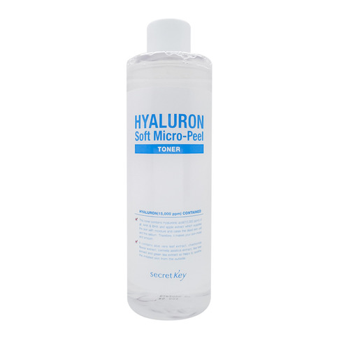 Гиалуроновый тонер для лица (Hyaluron aqua soft toner) Secret Key | Сикрет Кей 500мл