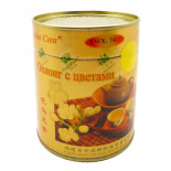 Чай зеленый Оолонг с цветами Чу Хуа 100г