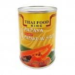 Папайя в сиропе Thai Food King (кусочки) 565г